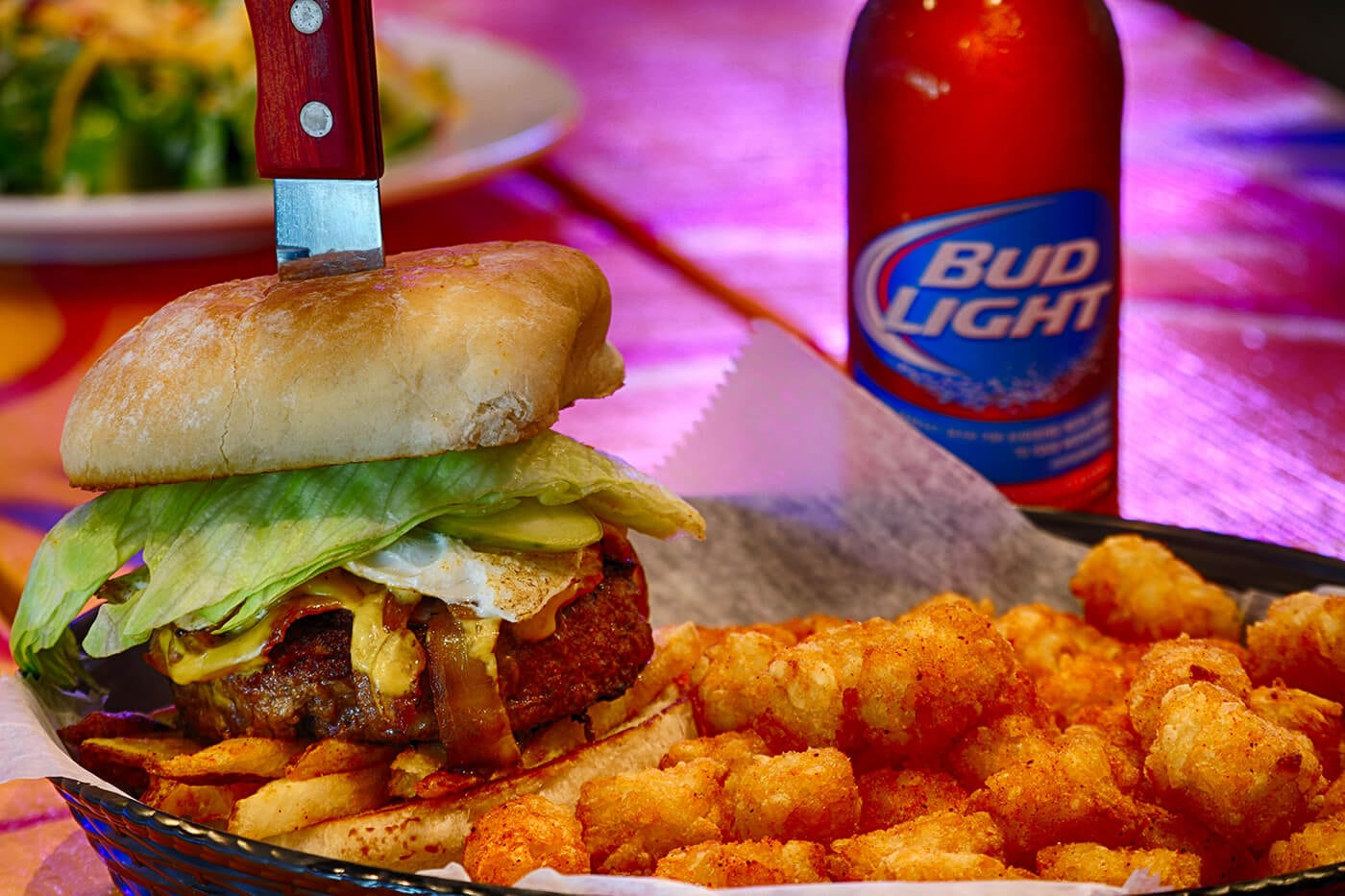 Photo of Tasty Slider with a Bud Light