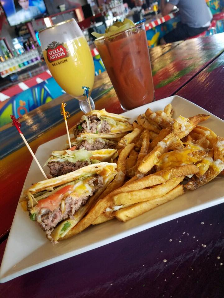 Photo Of Food With a Mimosa And Bloody Mary